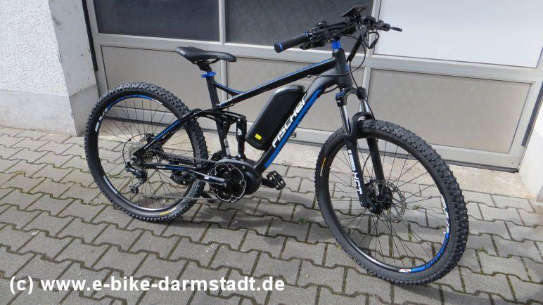 Probefahrt Fischer E-Bike Proline EVO EM 1609