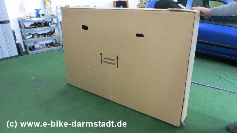 Verpackt Fischer E-Bike Proline EVO EM 1609