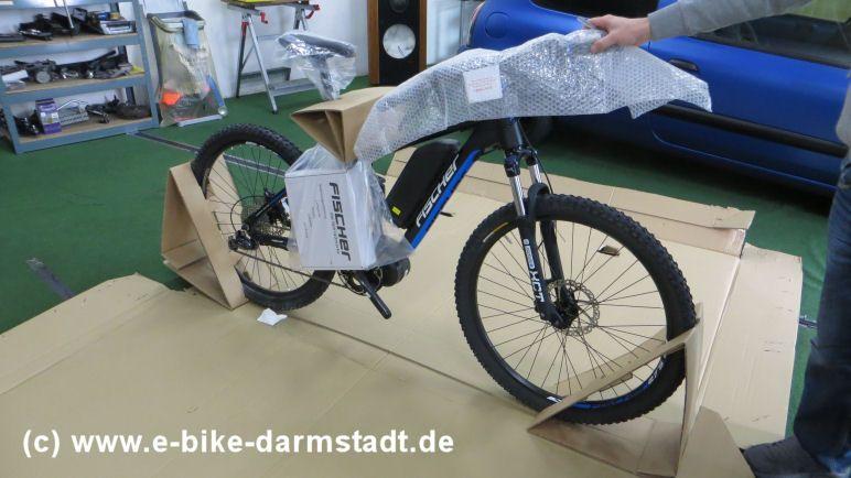 Ohne Karton Fischer E-Bike Proline EVO EM 1609
