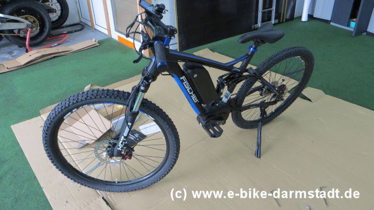 Nach Endmontage Fischer E-Bike Proline EVO EM 1609