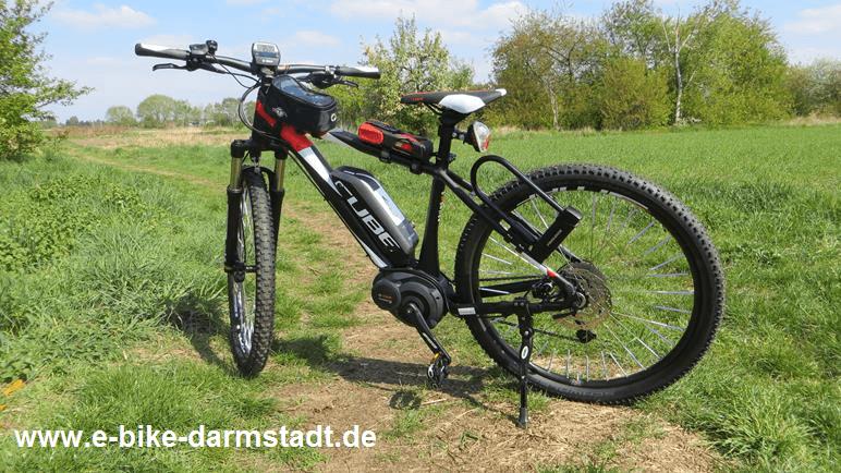 Vergleich E-Bike Diebstahlschutz - Cube Reaction Hybrid HPA One