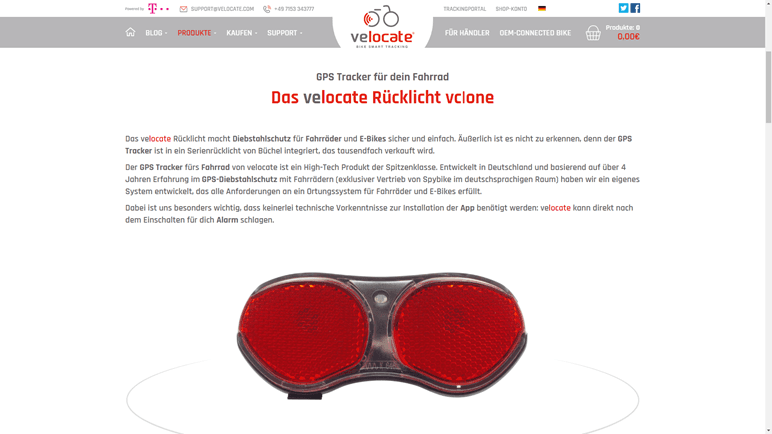 Vergleich E-Bike Diebstahlschutz – velocate GPS-Ortung