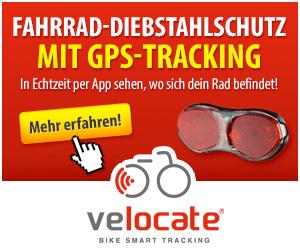 velocate GPS Diebstahlsicherung