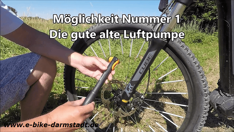 Mini-Luftpumpe