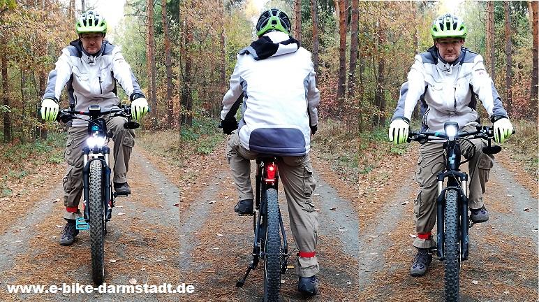 E-Bike und Pedelec Beleuchtung