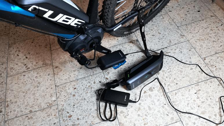 Reichweite Bosch E-Bike Pedelec Akku aufladen
